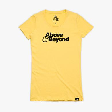 AnjunaBeats Above & Beyond Tee / Yellow (Womens)