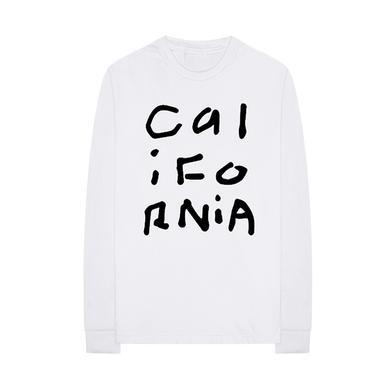 Diplo California Collage White Long Sleeve Shirt