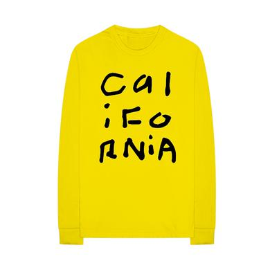 Diplo California Collage Yellow Long Sleeve Shirt