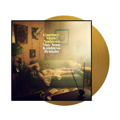 Courtney Marie Andrews May Your Kindness Remain Gold Vinyl LP (Ltd Edition) Heavyweight LP