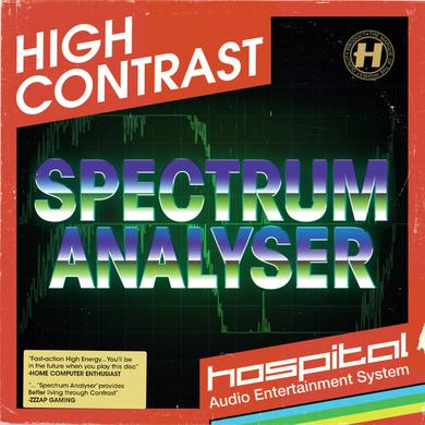 High Contrast Spectrum Analyser