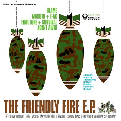 Various Artists The Friendly Fire EP