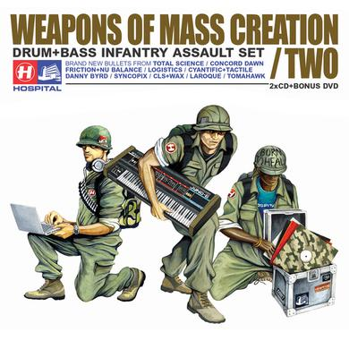 Various Artists Weapons Of Mass Creation 2