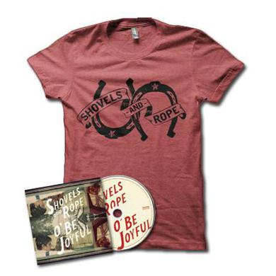 Shovels & Rope O' Be Joyful BUNDLE: CD + T-Shirt