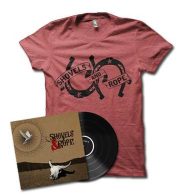 Shovels & Rope BUNDLE: Vinyl + T-shirt