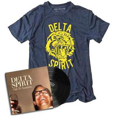 Delta Spirit Ode to Sunshine BUNDLE: Vinyl + Tiger shirt