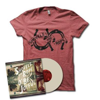 Shovels & Rope O' Be Joyful BUNDLE: Vinyl + T-shirt