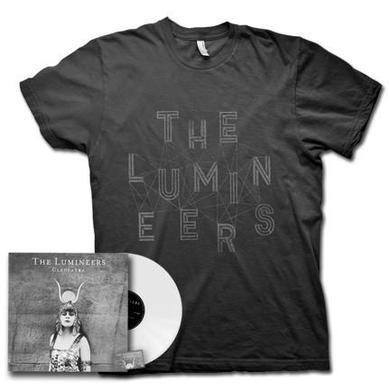 The Lumineers Cleopatra White Vinyl + Shirt (P)
