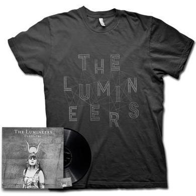 The Lumineers Cleopatra (Black Vinyl & Shirt Bundle)