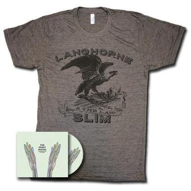Langhorne Slim The Spirit Moves CD + T-Shirt
