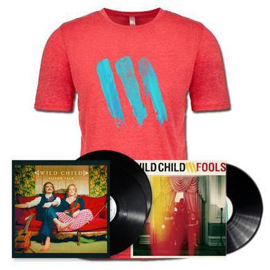 Wild Child Pillow Talk / Fools Bundle - Black Vinyl & T-Shirt
