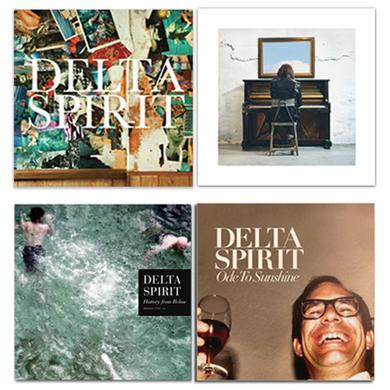 Delta Spirit Catalog (4 LPs)
