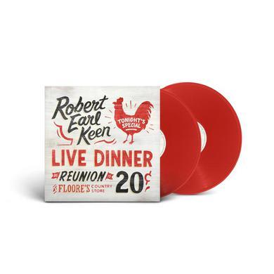 Robert Earl Keen Live Dinner Reunion (Red Vinyl)