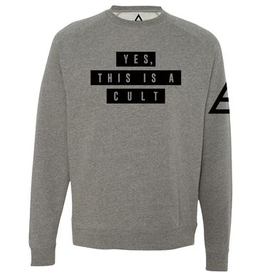 Thirty Seconds To Mars Yes, This Is A Cult Pullover Sweatshirt