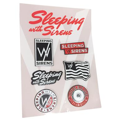 Sleeping With Sirens SWS 6 Pin Set