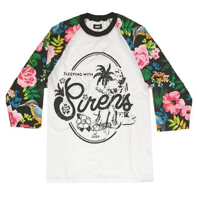 Sleeping With Sirens Vintage Hawaii Raglan