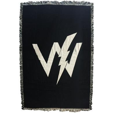 Sleeping With Sirens Woven Logo Blanket