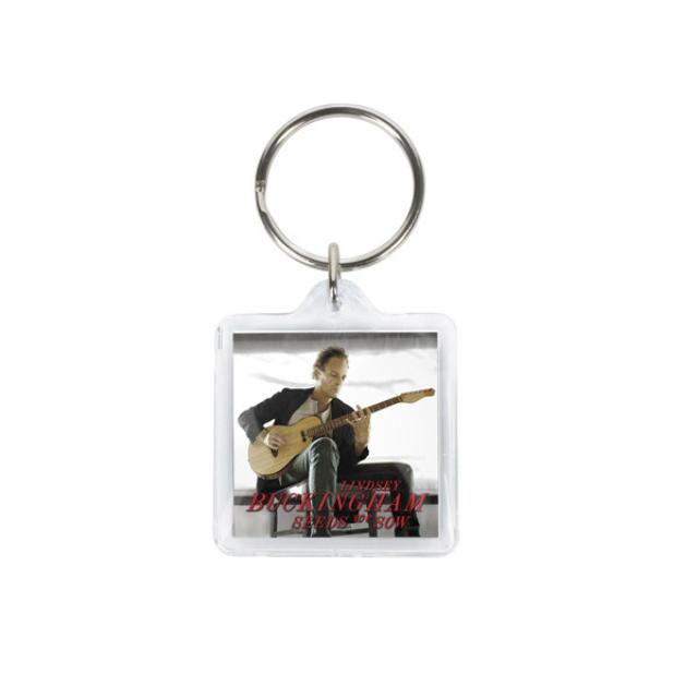 Lindsey Buckingham Seeds We Sew Keychain