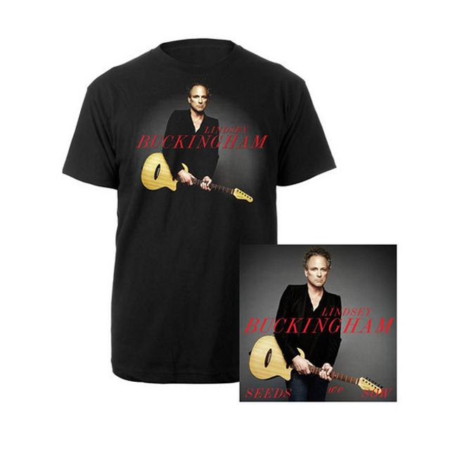 Lindsey Buckingham Seeds We Sow CD & T-Shirt Bundle