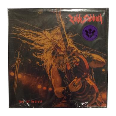 Black Label Society Zakk Sabbath - Live In Detroit Vinyl