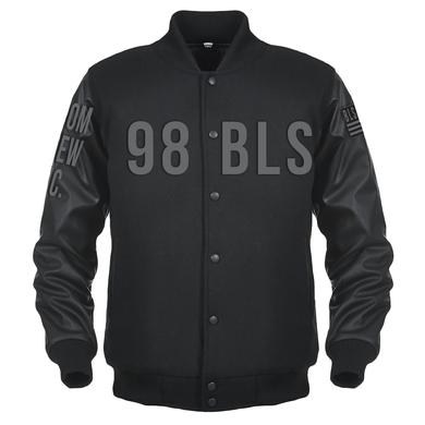 Black Label Society Leather Varsity Jacket O'Doom