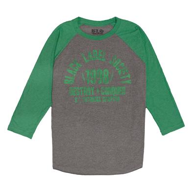 Black Label Society St. Paddy's Chapter Raglan