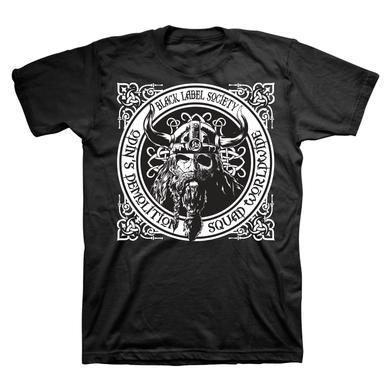 Black Label Society Black Odin Demo Squad Tee
