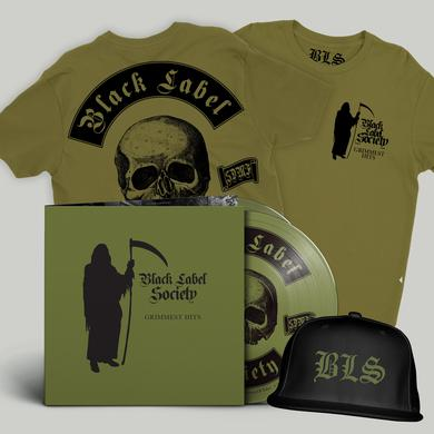 Black Label Society Grimmest Tee & Hat Bundle