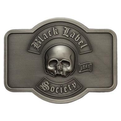 Black Label Society BLS Brushed Metal Belt Buckle