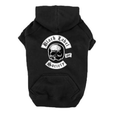 Black Label Society Skully Dog Hoodie