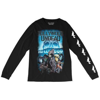 Hollywood Undead Comic Crew Long Sleeve