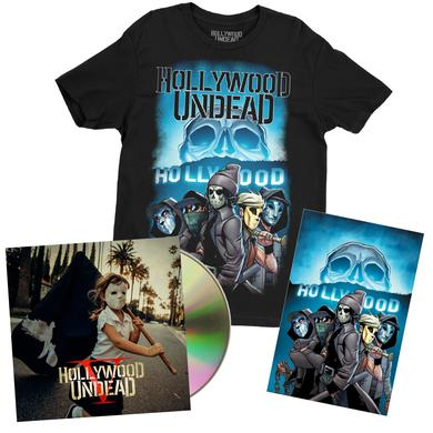 Hollywood Undead Comic CD Bundle