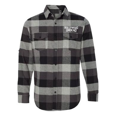 Hollywood Undead Faded Dove Flannel
