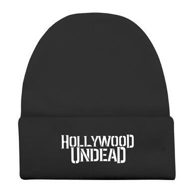 Hollywood Undead Black Logo Beanie