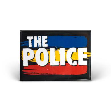The Police Synchronicity Stripes Magnet