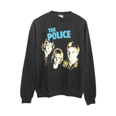 The Police Outlandos Heads Crew Neck Sweater