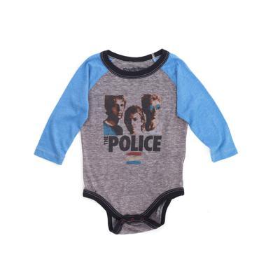 The Police Synchronicity Long Sleeve Onesie