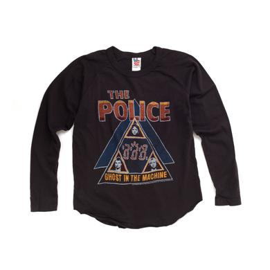 The Police Boys Ghost In The Machine Long Sleeve Shirt