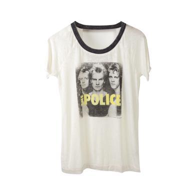 The Police Ladies Burnout Portrait T-Shirt