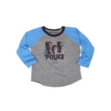The Police Synchronicity Long Sleeve Children's Toddler Raglan