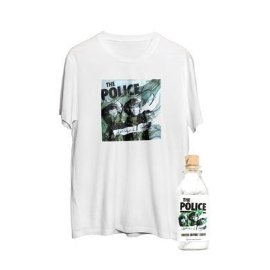 The Police T-Shirt In A Bottle