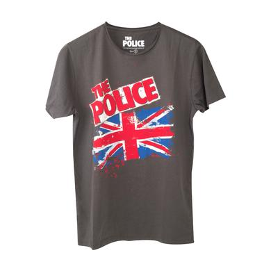 The Police Union Jack Distressed T-Shirt