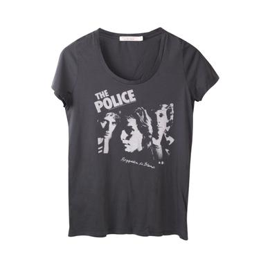 The Police Women's Scoop Neck Regatta de Blanc T-Shirt