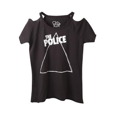 The Police Women's Zenyatta Cold Shoulder T-Shirt