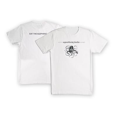 A Perfect Circle Eat The Elephant White T-Shirt (Limited Edition)