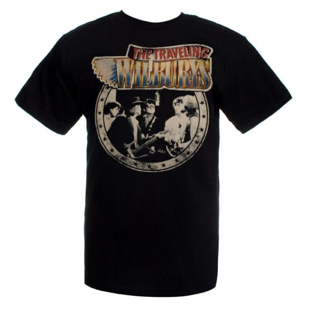 Traveling Wilburys Band Photo Tee