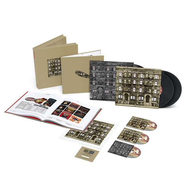 Led Zeppelin Physical Graffiti Super Deluxe Edition Box Set