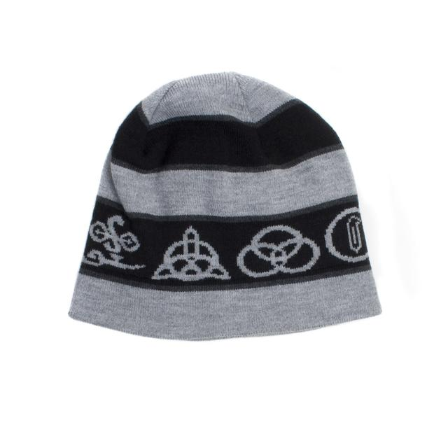 Led Zeppelin Four Symbols Beanie Hat