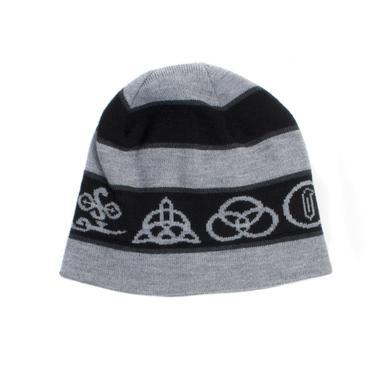 Led Zeppelin Four Symbols Beanie Hat