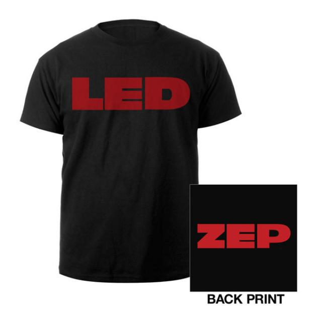 Led Zeppelin Youth LED ZEP Black T-Shirt
